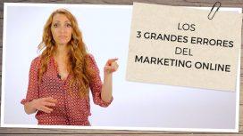 Errores marketing online