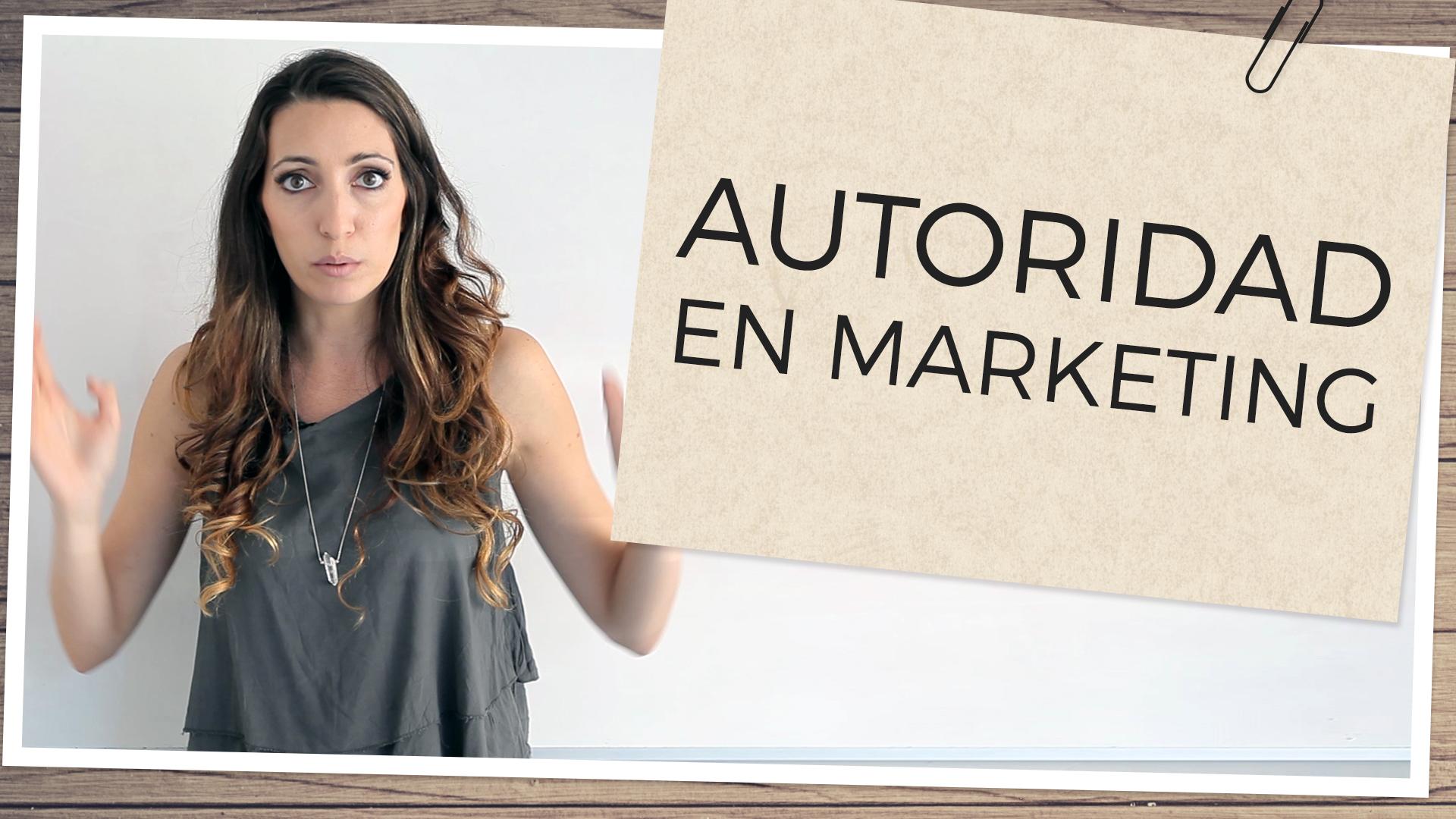 autoridad en marketing