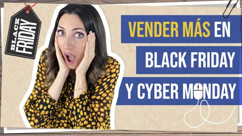 Vende más en Black Friday y Cyber Monday